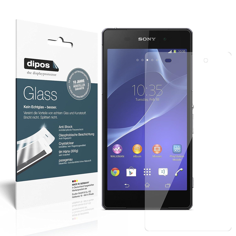 2x dipos Glass Panzerfolie Sony Xperia Z2 Schutzfolie Amazon Elektronik