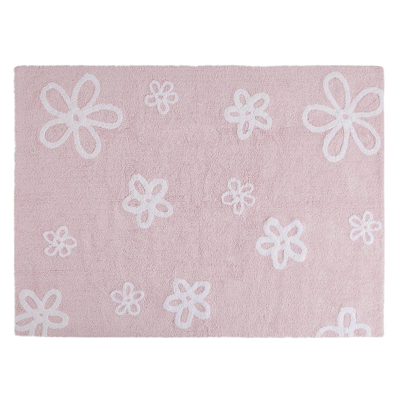 Lorena Canals Flores Washable Rug (Pink) Flores Pink C-FL-1