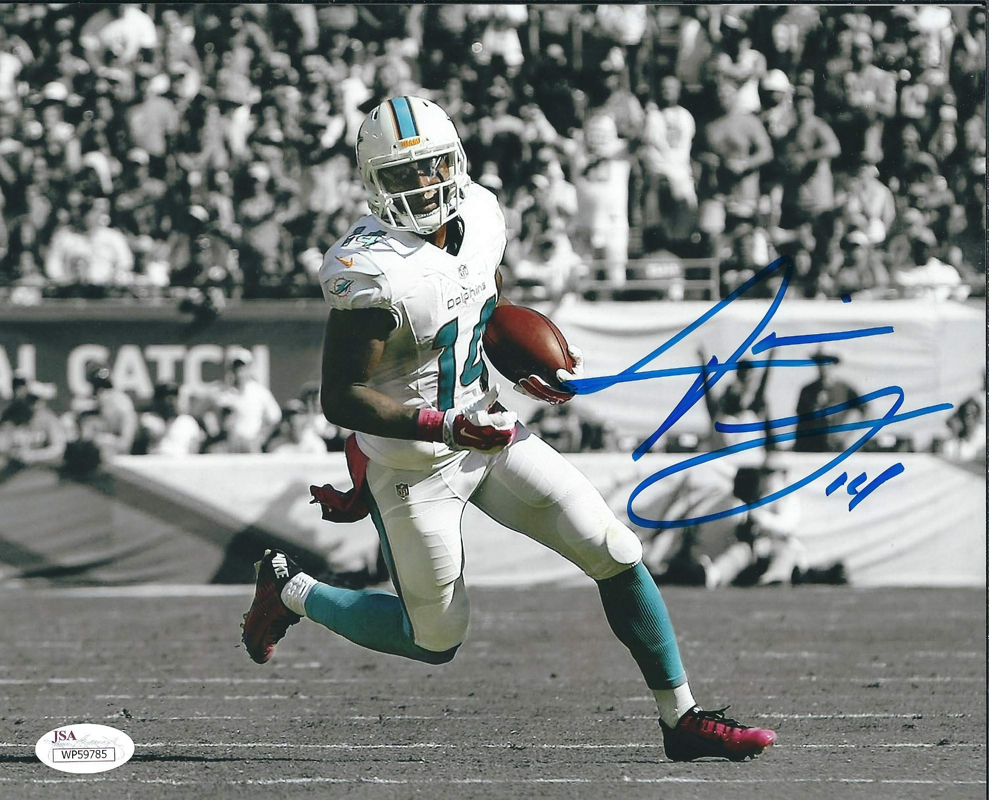Autographed Jarvis Landry 8x10 Miami Dolphins Photo JSA