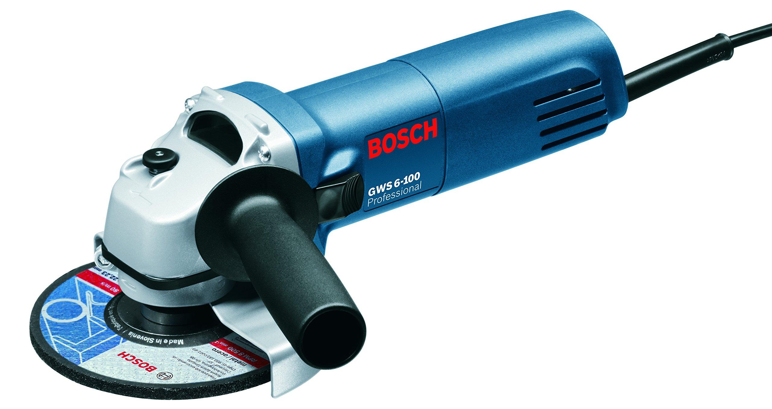Bosch GWS 6-100 4 inch Angle Grinder (Green)