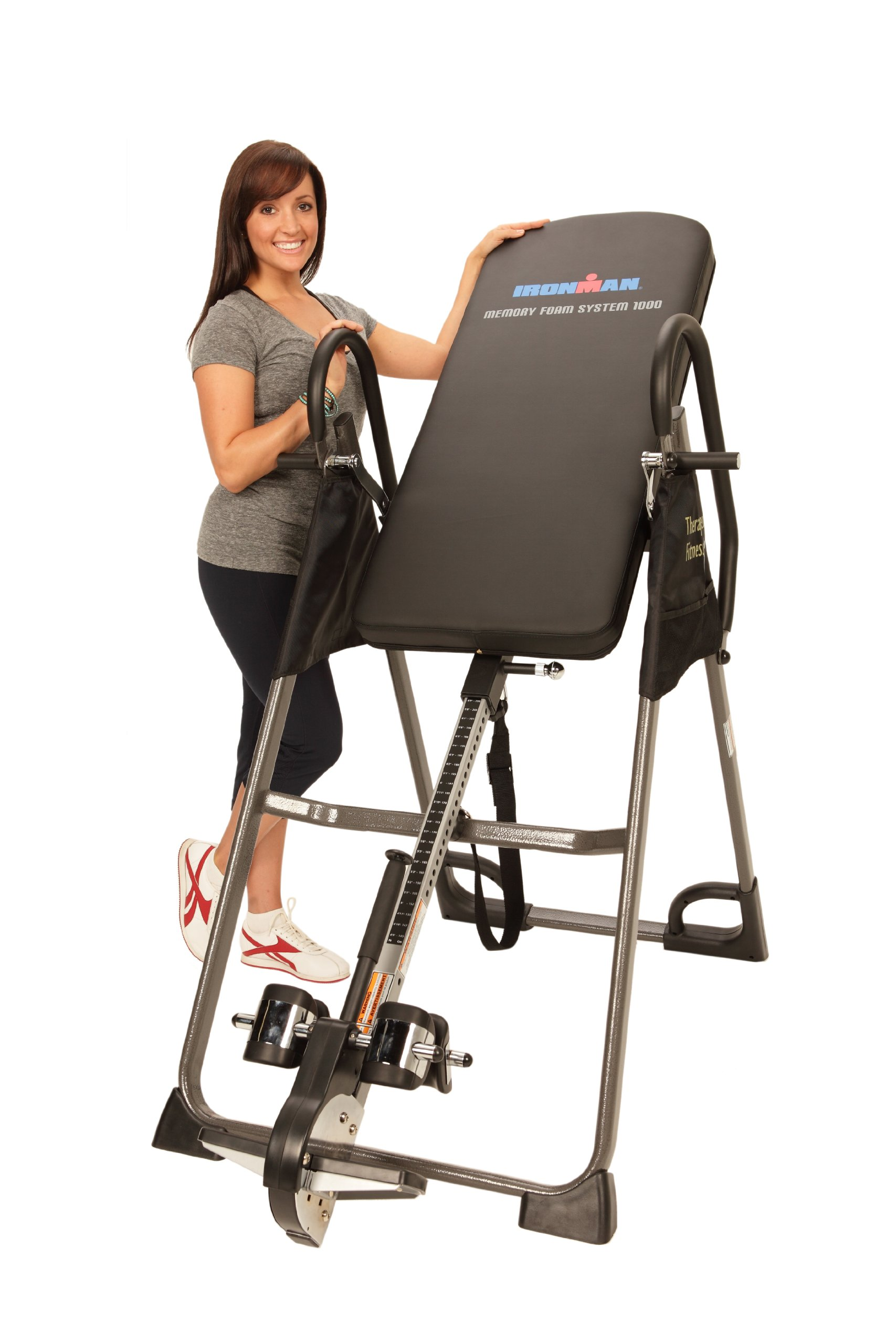 IRONMAN High Capacity Gravity 3000 Inversion Table, 350 lbs by IRONMAN