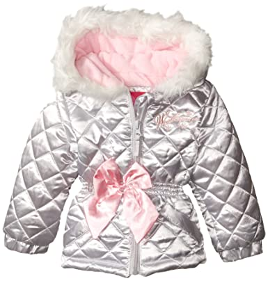 48e7c878a37d Weatherproof Baby-Girls Infant Diamond Quilted Jacket  Amazon.in ...