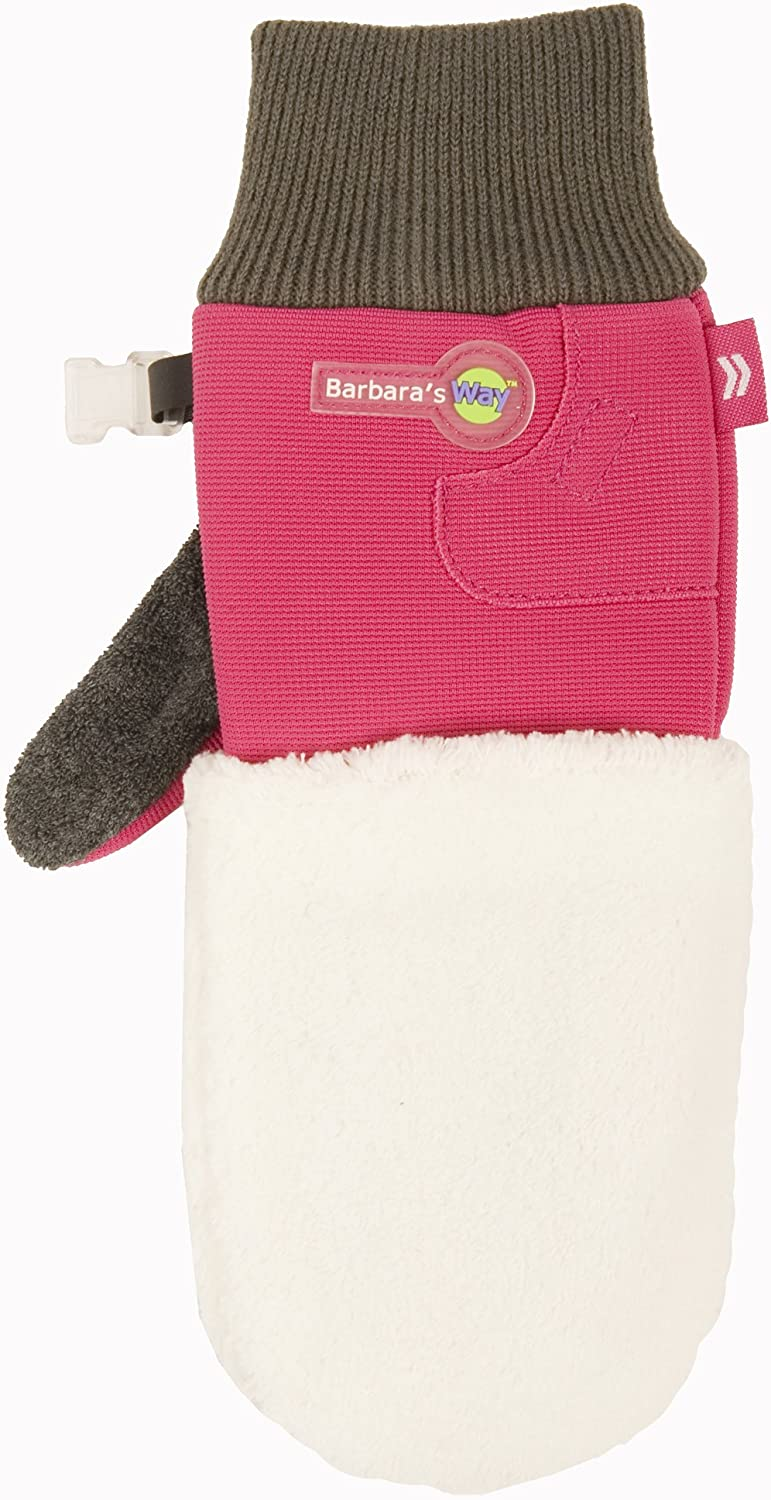 Barbara's Way Women's Cleaning 21283 One Size Glove by Isotoner, Pink