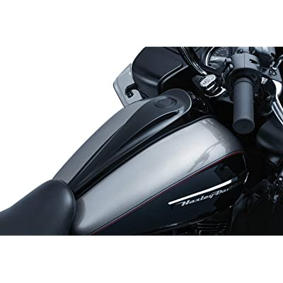 Kuryakyn 5689 Motorcycle Accent Accessory: Signature Series Smooth Dash Console by Jim Nasi for 2008-16 Harley-Davidson Motorcycles, Gloss Black: Automotive