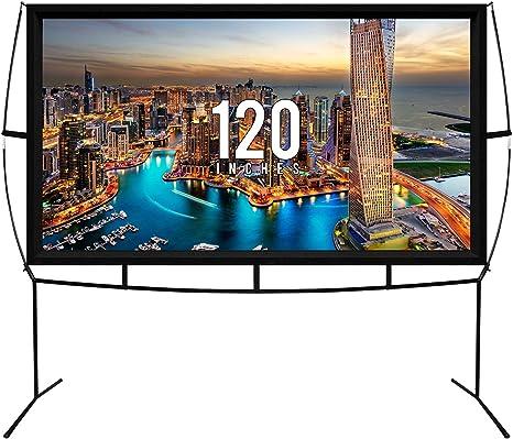 Amazon.com: Jumbo - Pantalla portátil para proyector de cine ...