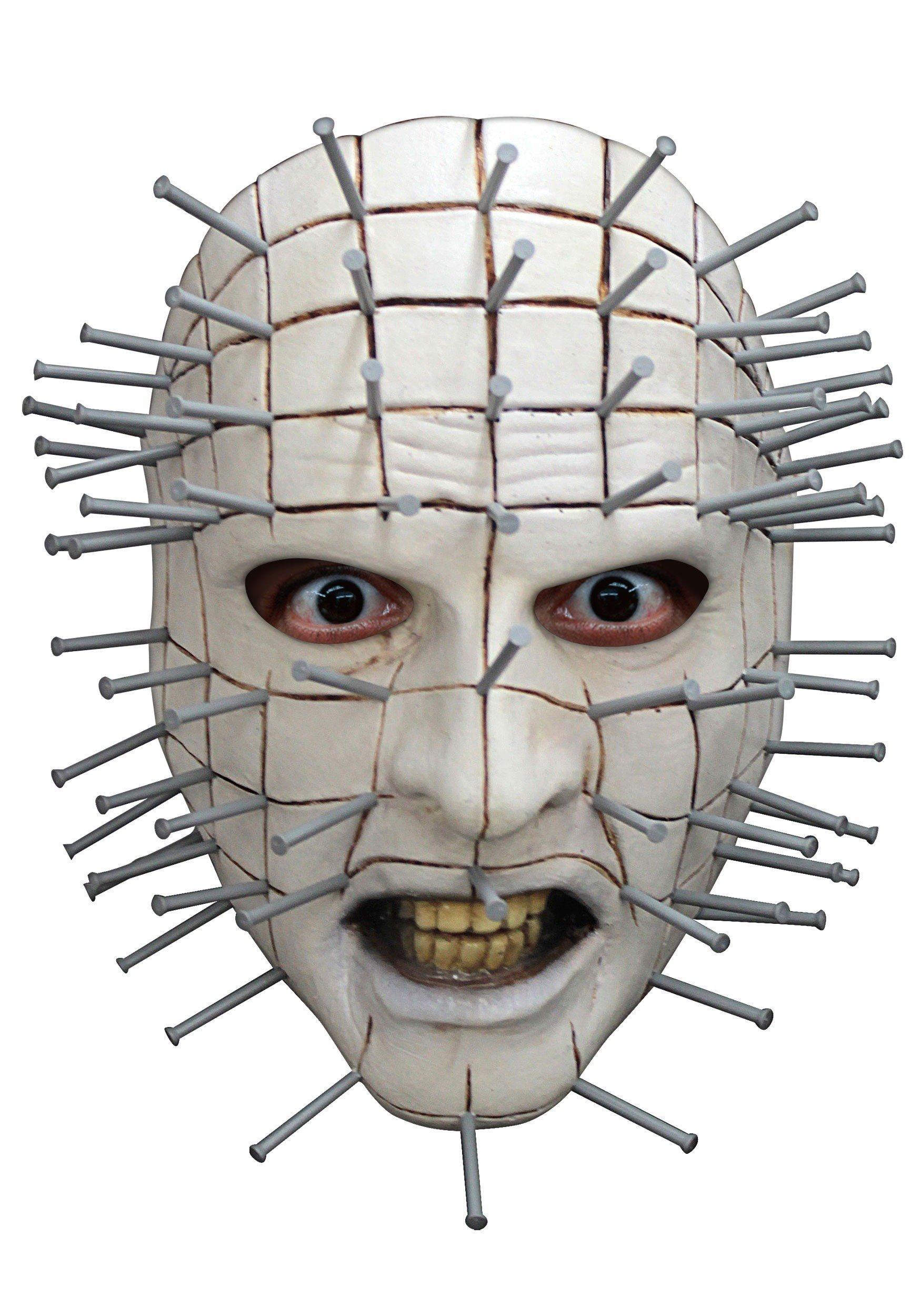 Faerynicethings Adult Size Hellraiser III: Pinhead Latex Face Mask