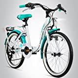 20 Zoll Wei/ß//Rosa KS Cycling Fahrrad Kinderfahrrad Dacapo Florida RH 34 cm 400D