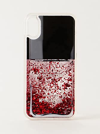 iPhone X対応 正規品 公式 Nailpolish Lovely Rosa for iPhone X 14578 /[アイフォリア/]