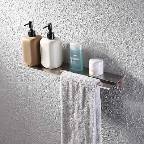 Amazon.com: KES Bathroom Shower Shelf Stainless Steel 18-Inch or 45 ...