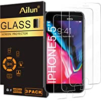 Ailun Screen Protector for iPhone 8 plus/7 Plus/6s Plus/6 Plus-5.5 Inch 3Pack 2.5D Edge Tempered Glass Compatible with…