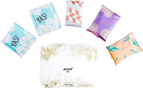 Parasol Pañal del bebé los pantalones y Cuidado Femenino Bundle Pack: Amazon.es: Bebé