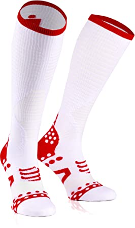 Compressport Ultralight Racing Full Socks Ironman Edition White Talla T2 | 39 - 41 2017 Unidad Calcetines: Amazon.es: Deportes y aire libre