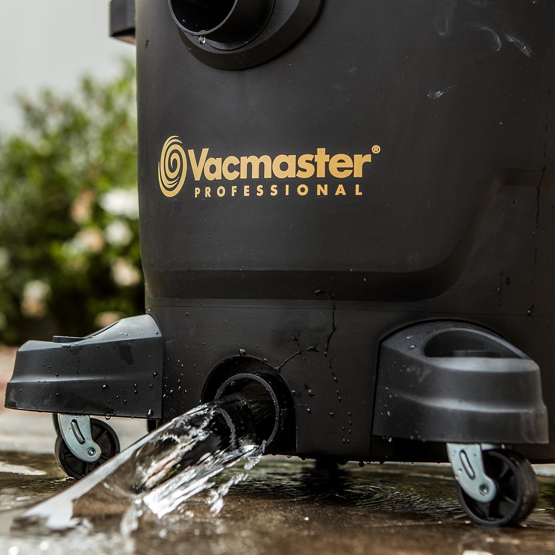 6.5 HP Steel Tank Wet//Dry Vac with Cart VJE1412SW0201 Beast Professional Series 14 Gal Vacmaster