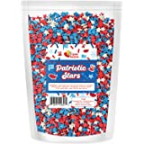 A Great Surprise Red, White, and Blue Stars - Patriotic Topping - 4th of July - Bulk Sprinkles - 10oz