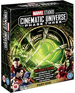 1d9945c0d Amazon.com  Marvel Cinematic Universe  Phase One - Avengers ...
