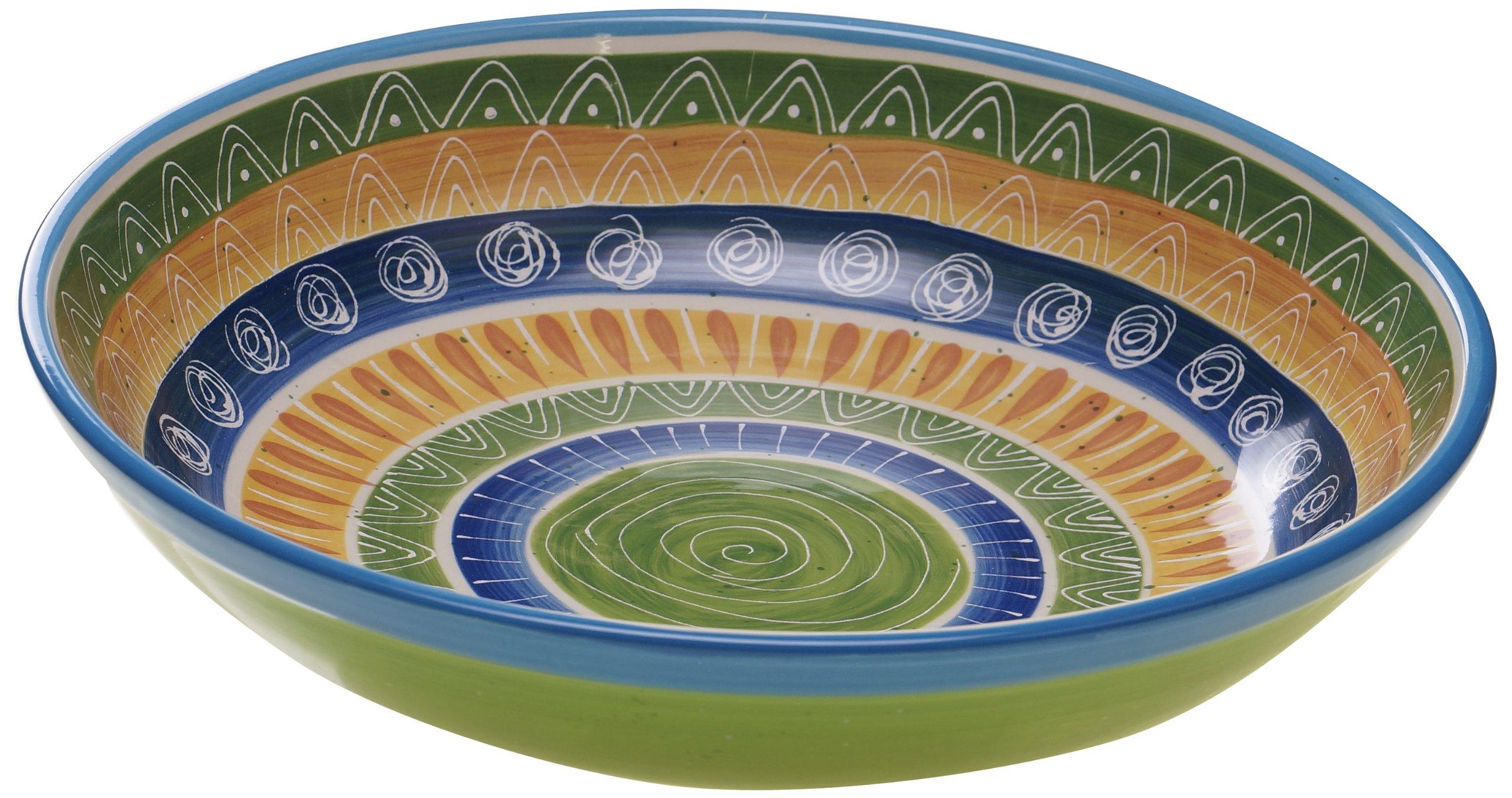 Certified International Tapas Pasta/Serving Bowl, 13.25-Inch