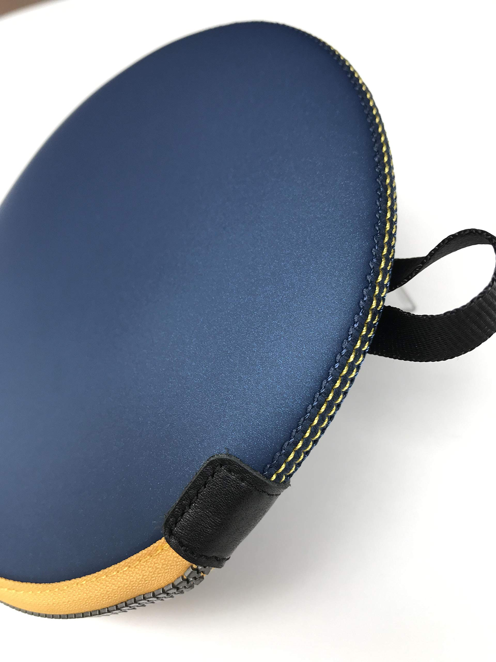 ONEJOY Ping Pong,Table Tennis Racquet Bag,Sleeves with Zipper AJ60,Loop to Hook,19cm x 17cm, for 1 Racquet/Racket/Paddle. by ONEJOY (Image #4)