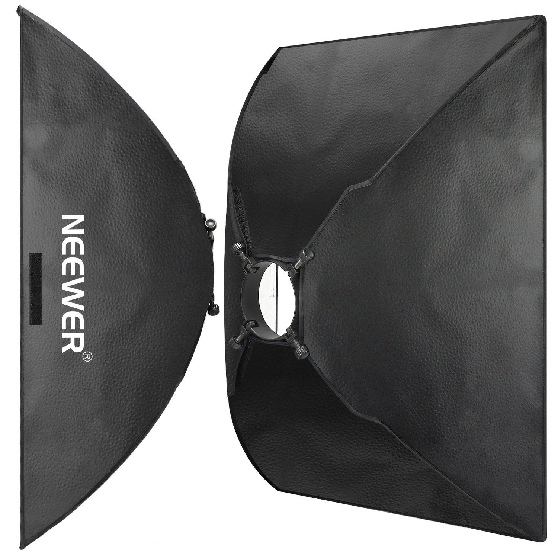 Neewer 50x70 cm Softbox Rettangolare Luce Fotografico per  Neewer Godox N-250W N-300W 300DI 250DI 300SDI 250SDI 180W Studio Flash Monoluce a Strobo