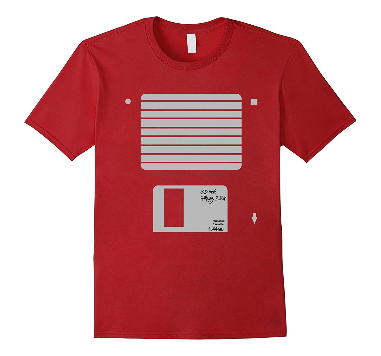 usb floppy disk geek computer nerd halloween costume t shirt anz