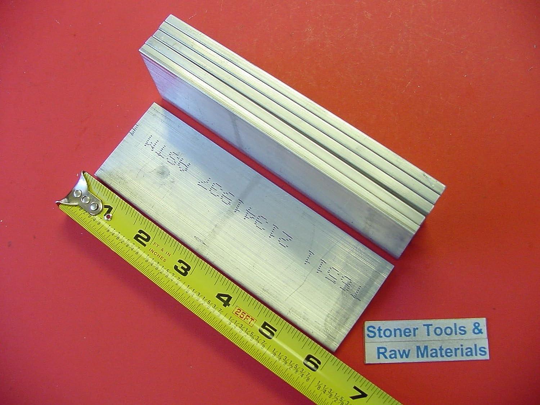 "3 Pieces 1//4/"" X 3//4/"" ALUMINUM 6061 FLAT BAR 24/"" long Solid T6 .25 Mill Stock"