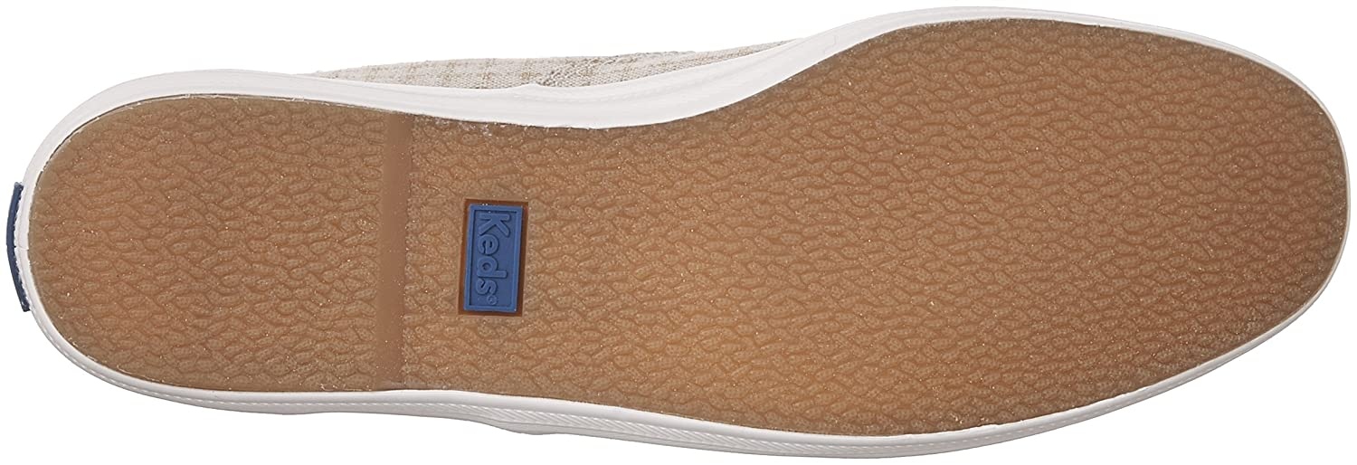 Keds Women's Champion Fashion Sneakers B01MRAWRNQ 6 B(M) US|(Foil Ticking Dot) Natural