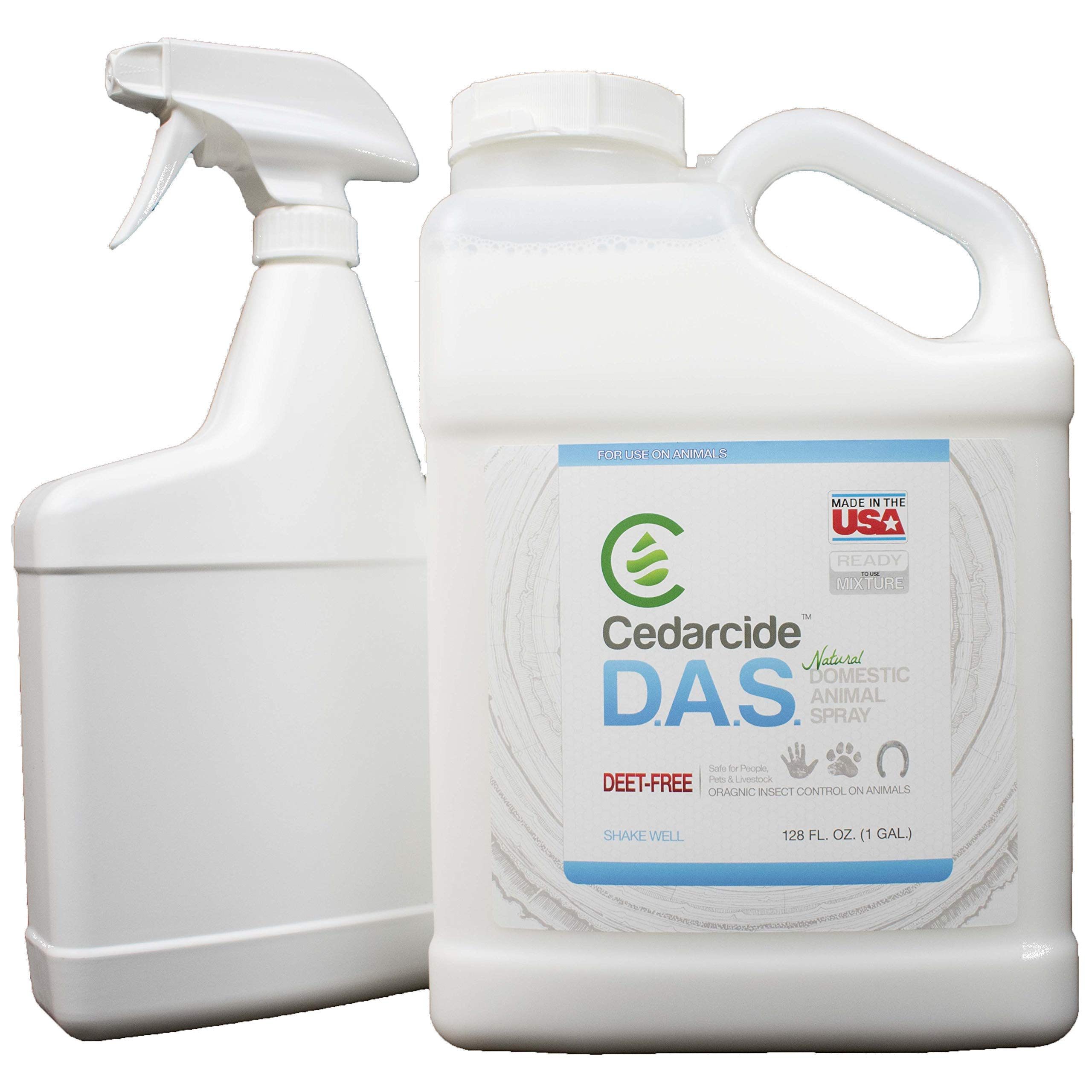 DAS (Domestic Animal Spray) - Gallon by CedarCide by CedarCide (Image #2)