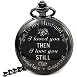Pocket Watch To Husband Gift From Wife To Husband, Best Anniversary Gifts For Him
