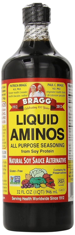 Coconut Aminos Substitute (Bragg's Soy Aminos)