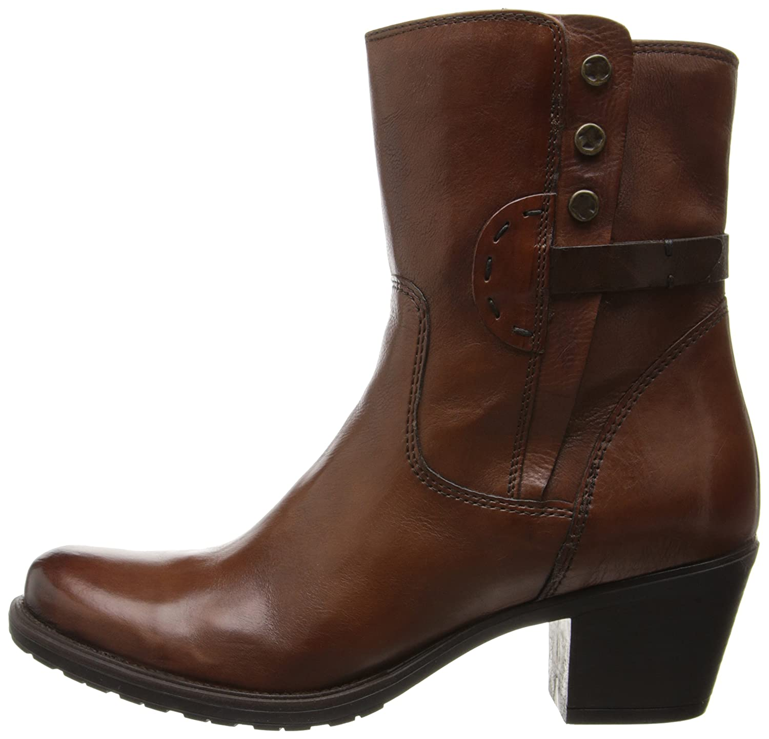 CLARKS Women's Maymie Skye Boot Leather B00HWIMM3Q 6 B(M) US|Cognac Leather Boot df0800