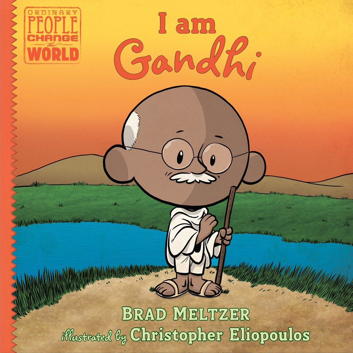 I am Gandhi (Ordinary People Change the World) by Dial Books (Image #1)