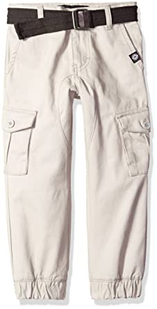c30079a0e Akademiks Kids Boys' Little Boys' Belted Twill Jogger Cargo Pant, ...