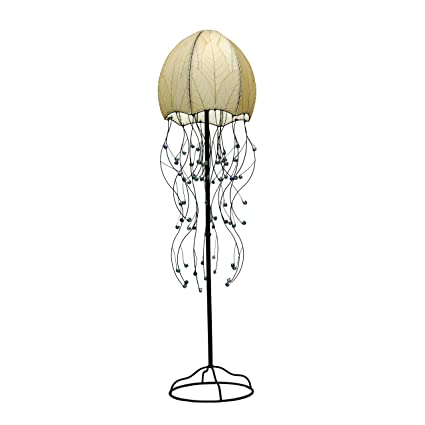 Eangee Home Designs 399 N 2 Light Jellyfish Floor Lamp