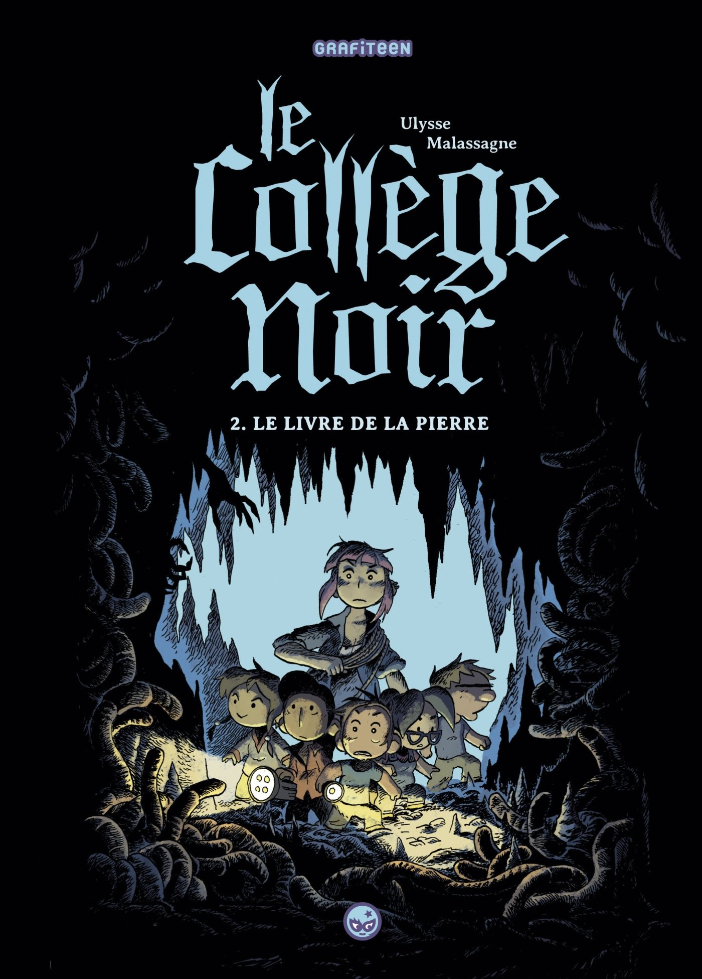 Le College Noir Tome 2 Le Livre De La Pierre