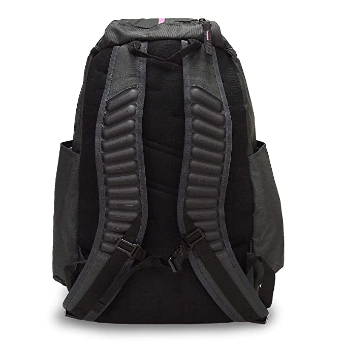 badce2bac1 Amazon.com  Nike Hoops Elite Max Air Team 2.0 Basketball Backpack Anthracite  Black Pinkfire II Size One Size  Sports   Outdoors