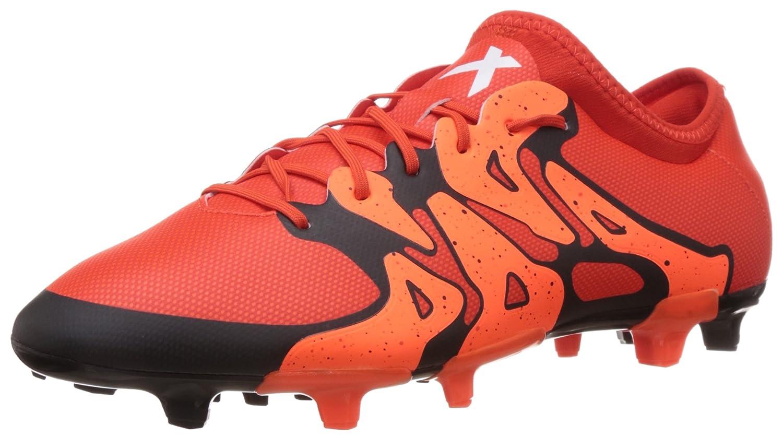 adidas X15.2 FG / AG Mens Soccer Boots / Cleats [並行輸入品] B0161OR98E 25.0 cm オレンジ
