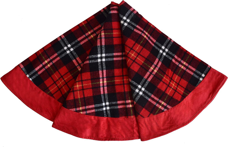 Gireshome Buffalo - Plaid de Cuadros con Falda de árbol de Navidad ...