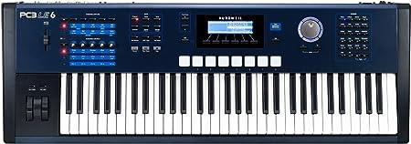 Kurzweil PC3LE6 - Controlador MIDI (61 teclas), color azul ...