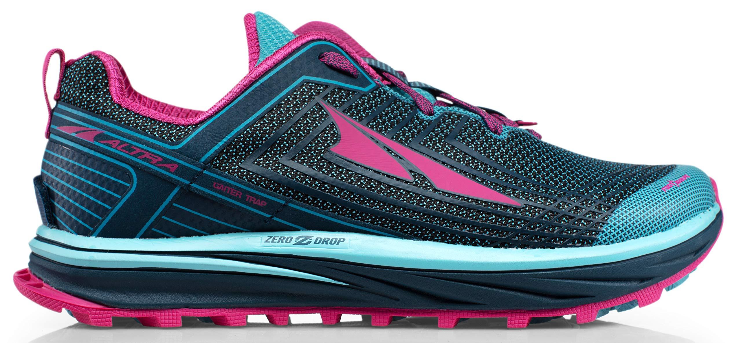 Altra AFW1957F Women's TIMP 1.5 Trail Running Shoe, Blue/Raspberry- 6 B(M) US