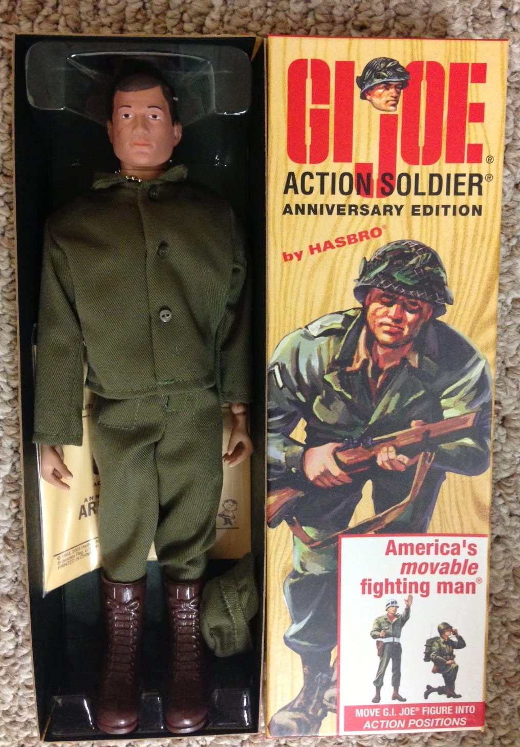 "12"" GI Joe ACTION SOLDIER - 1960's Reproduction Action Figure"