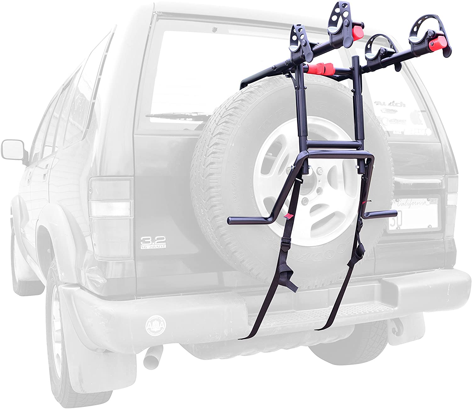 Allen Sports Premier 2-Bike Spare Tire Rack, S302
