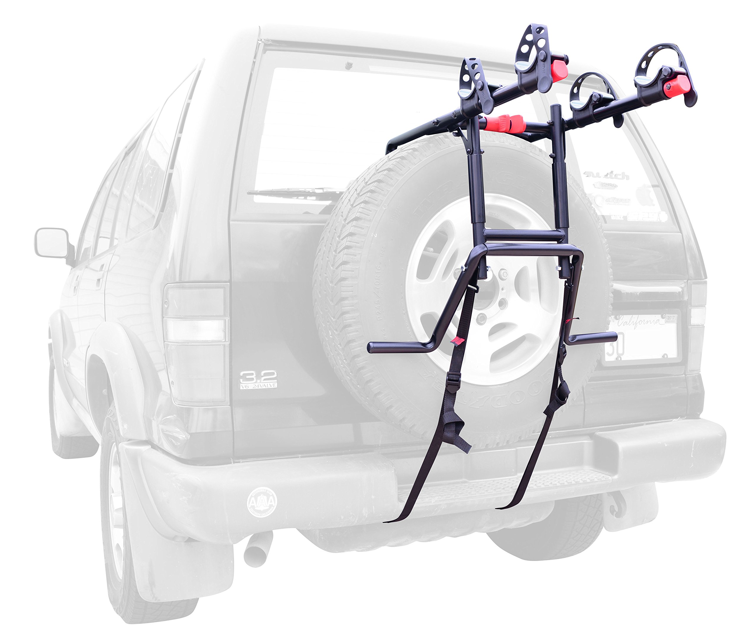 Allen Sports Premier 2-Bike Spare Tire Rack