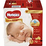 Huggies Little Snugglers Diapers - Newborn - 72 ct