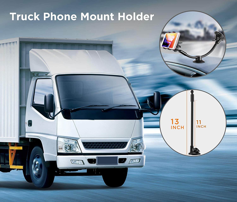 best cell phone holder for semi trucks
