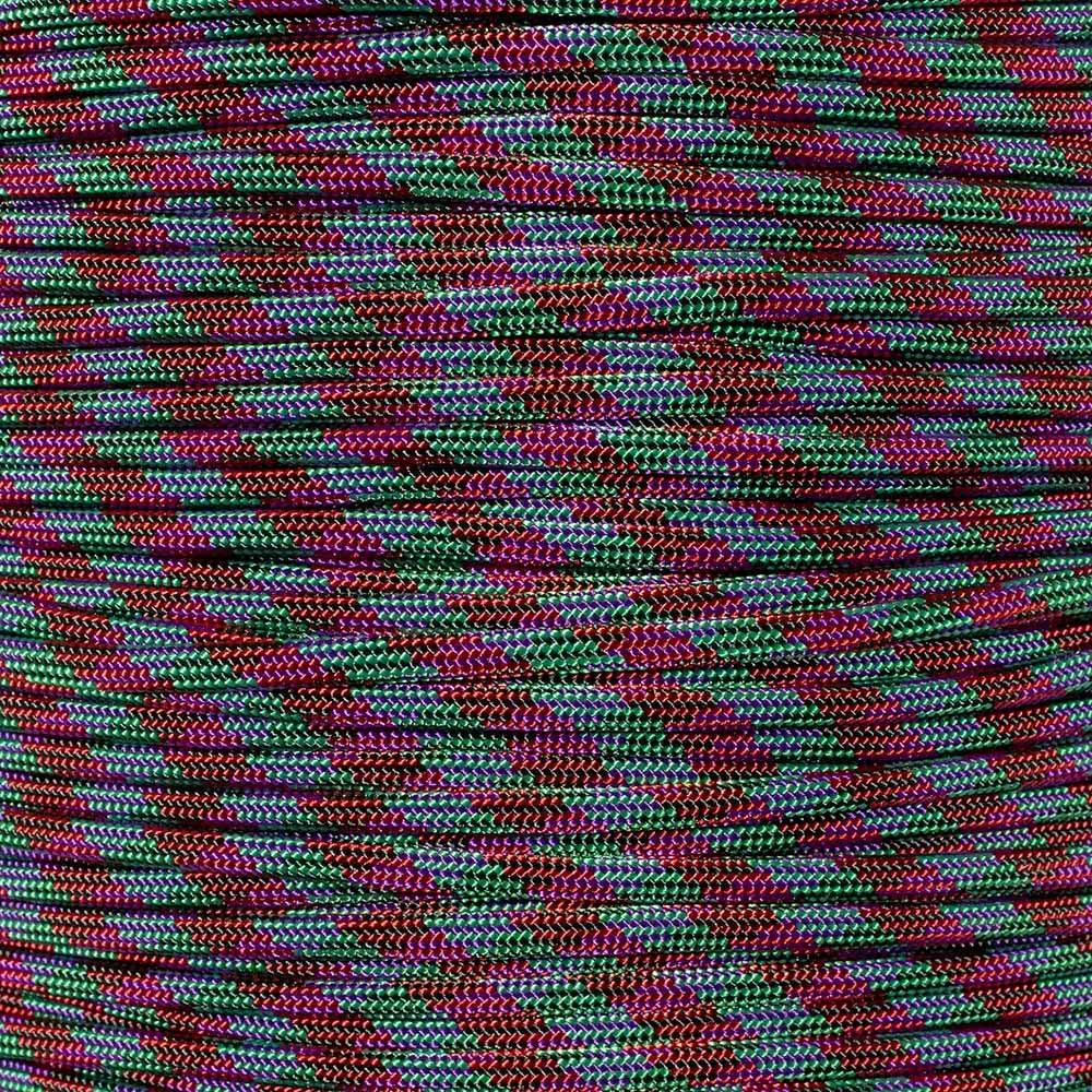 PARACORD PLANET 550 Color Changing Paracord 7 Inner Strand Type III Mil Spec Parachute Cord Rope