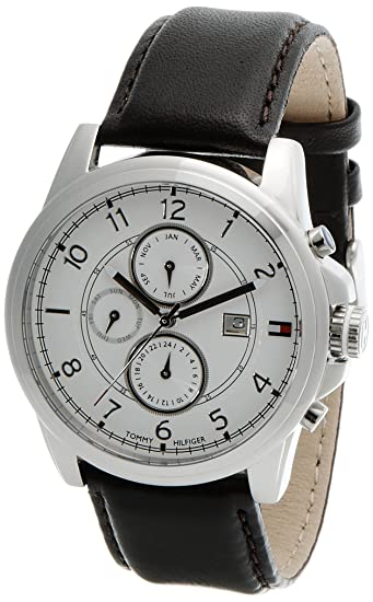 d98aa7b9e2ad Buy Tommy Hilfiger Analog White Dial Men s Watch - TH1710294J Online at Low  Prices in India - Amazon.in