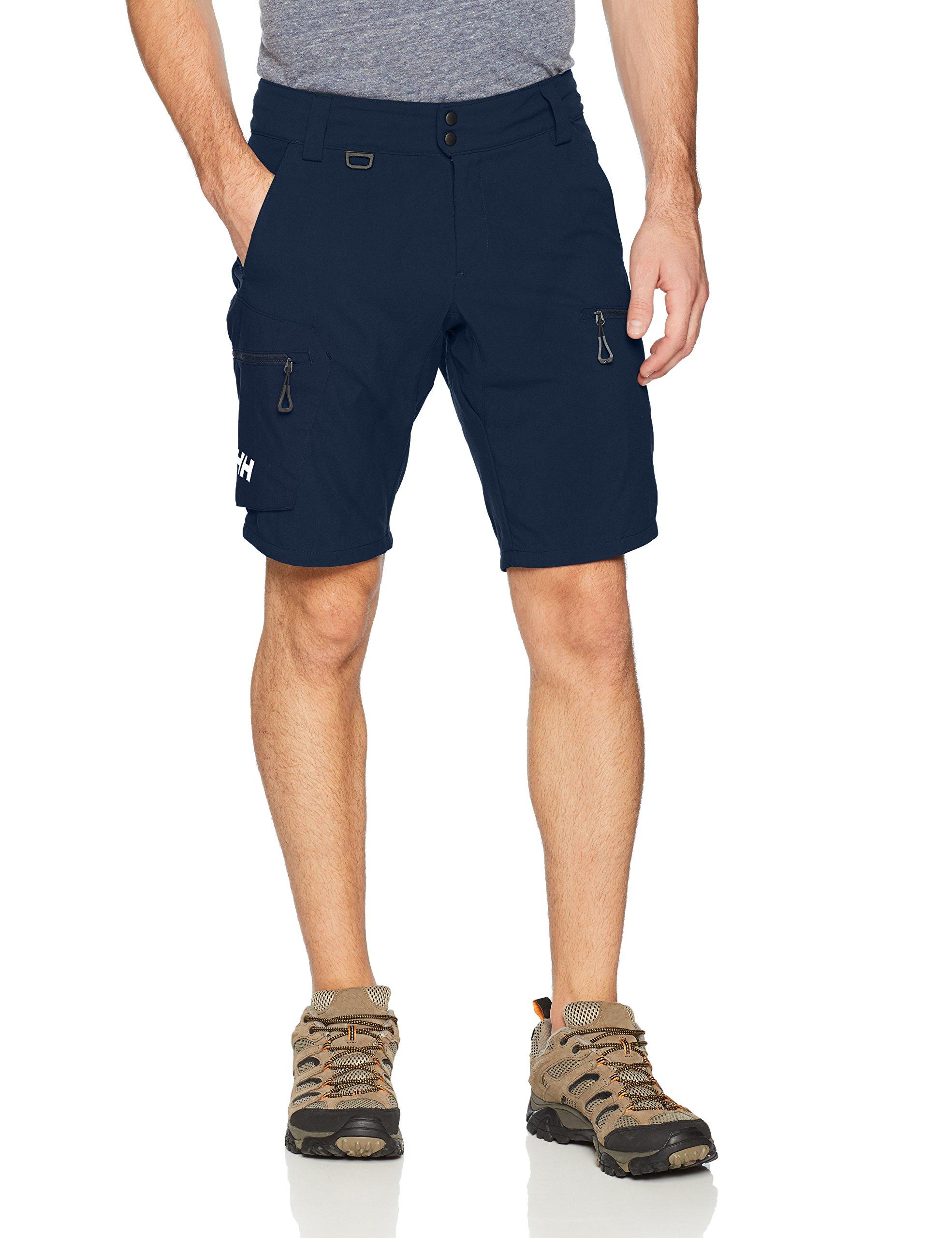 Helly Hansen Men's Crewline Cargo Shorts, Navy, Size 36