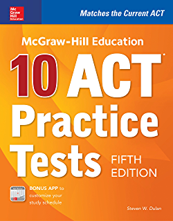 Amazon mcgraw hill education act 2018 mcgraw hill education mcgraw hill education 10 act practice tests fifth edition mcgraw hills fandeluxe Gallery