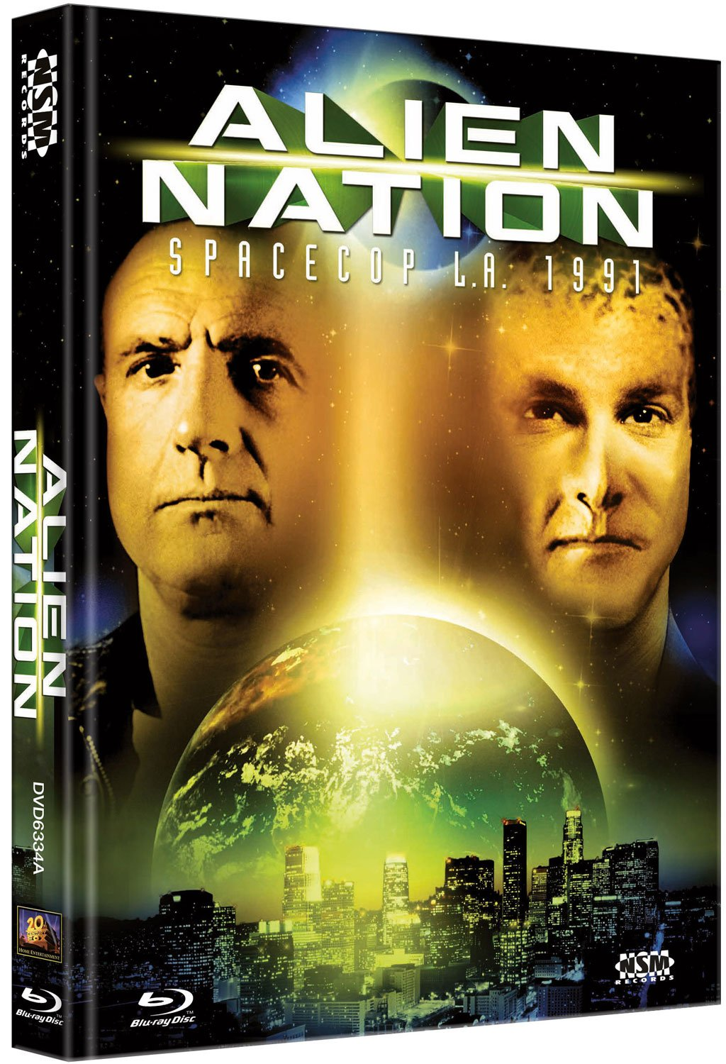 Alien Nation - Spacecop L.A. 1991 - uncut Blu-Ray+DVD auf 444 limitiertes Mediabook Cover A Alemania Blu-ray: Amazon.es: James Caan, Mandy Patinkin, Terence Stamp, Kevyn Major Howard, Leslie Bevis, Peter Jason, Conrad
