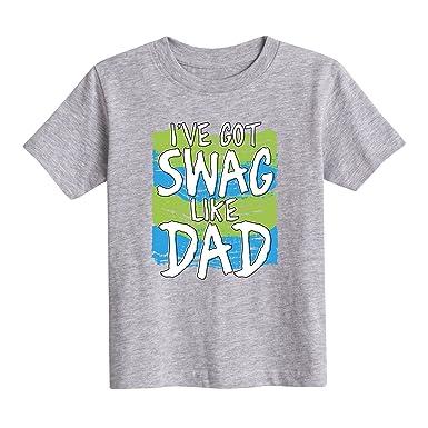 0c586478 Amazon.com: Instant Message I've Got Swag Like Dad - Toddler Short Sleeve  Tee: Clothing