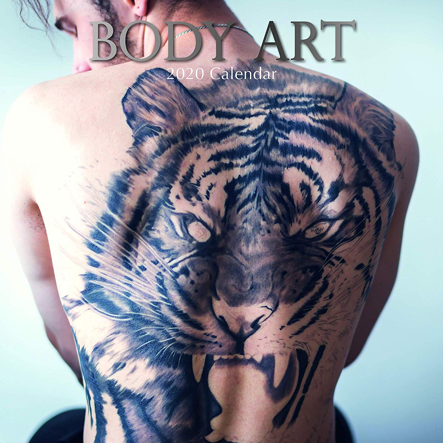 Body Art 2020 Wall Calendar Amazon In Office Products